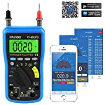 Digital Multimeter,INFURIDER YF-90EPD Auto-ranging Voltmeter Avometer DMM with Bluetooth Connection Via Phone for AC&DC Voltage, AC & DC Current,Resistance,Cap,Temp,Hz,Battery Test Electrical Tester