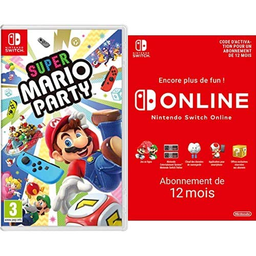 Super Mario Party Switch + Nintendo Switch Online - Abonneme