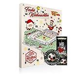 1. FC Union Berlin Premium Adventskalender gefüllt inkl. Poster (A+L/WIR)