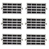 6Pack Air Filter Compatible with Whirlpool W10311524 AIR1 Refrigerator Air...