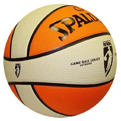 73-719 Spalding WNBA Rubber 6-Panel Basketball