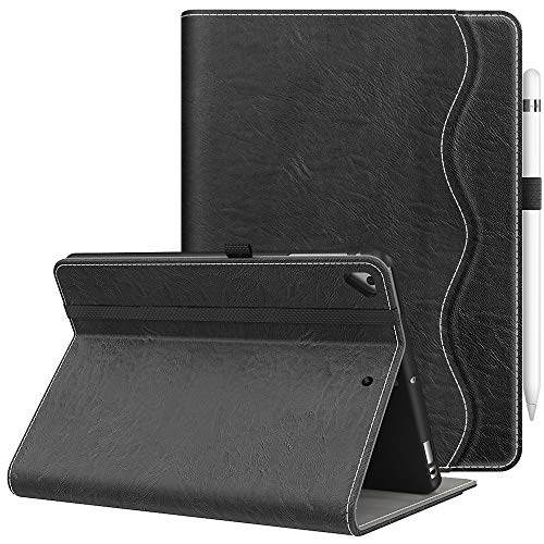 Vori iPad 9.7 2018/2017 (6th/5th Generation) Case - Multiple Viewing Angles iPad 6th Generation Covers Fit iPad Air 2 / iPad Air (Black)