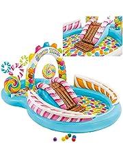 Intex Piscina Actividades Candy Zone 295X191X130 cms. (Mas 3 Años)