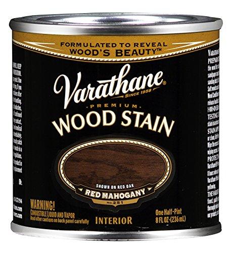 Varathane 211801 Premium Wood Stain, Half Pint,...