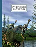 """Storyboard Notebook: Caudipteryx Dinosaurs Storyboard Notebook, Cinema Notebooks for Cinema Artists   120 Pages with Size 8.5"""" x 11"""" by Janet Behrens"""