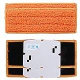 Pack de 4 almohadillas lavables de repuesto de microfibra para iRobot Braava Jet 240 241, naranja, almohadillas de barrido húmedos