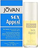 Jovan Sex Appeal By Coty | 3.0 Oz Cologne Spray | Fragrance For Men