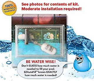 Swimming Pool Auto Fill Valve and Protective Cover- EZAutoFill - The Water Wise Solution!