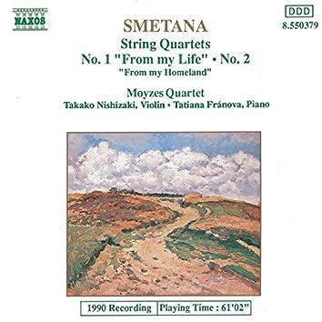 Smetana: String Quartets Nos. 1 and 2