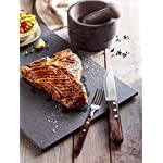 Tramontina Set of 4 Jumbo Steak Knives with Wooden Handles