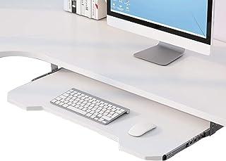 WUK Support Ergonomique Support de Plateau de tiroir de Clavier sous la Plate-Forme de Bureau Meubles Accessoires de Burea...