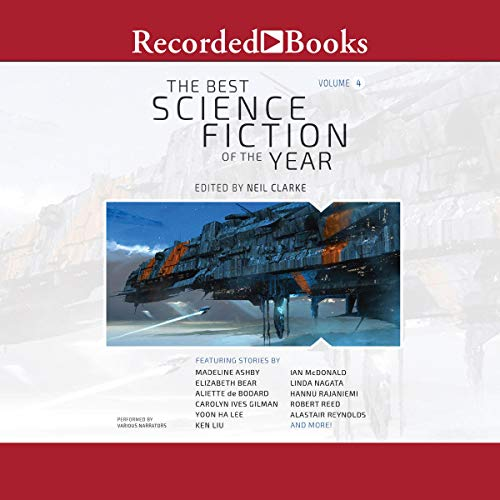 The Best Science Fiction of the Year, Volume 4 cover art