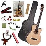 アコースティックギター初心者セット 17点入門セット 小学生 大人用 ギター初級 セット教則本付き