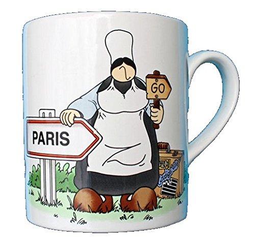 Faiencerie De Pornic - Mug Paris Go