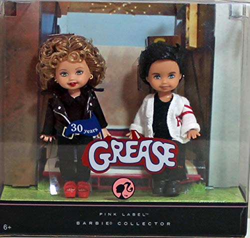 Mattel Grease Barbie Kelly Celebrity Kelly and Tommy Dolls by Mattel (English Manual)