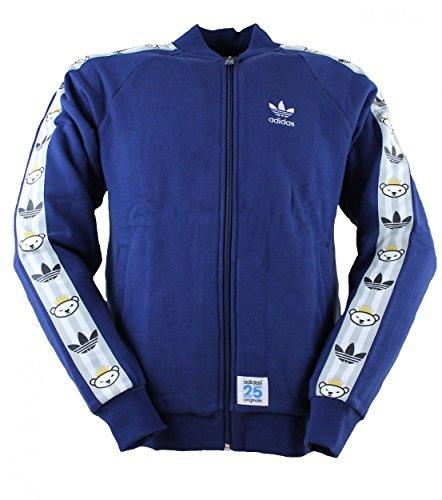 adidas Originals Track Top Nigo - Chaqueta deportiva azul S