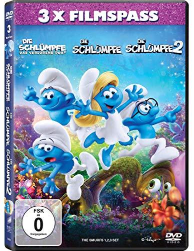 Die Schlümpfe - Das verlorene Dorf / Die Schlümpfe / Die Schlümpfe 2 [3 DVDs]