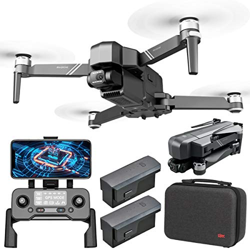 F11 4K PRO Drones Quadcopter UAV UHD 2-Axis Camera for Adults Live Video for GPS 30min Flight Time, Return Home,5G WiFi Transmission, FPV Drones Camera, Long Control Range, Brushless Motor, Auto Hover