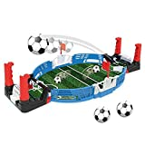 Table Football Set Mini Tabletop Soccer Game Desktop Mini Football Tabletop Arcade Juego Diversión para niños Adultos Table Soccer