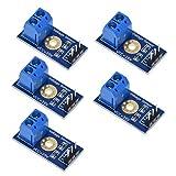 HiLetgo 5pcs Voltage Sensor Voltage Detection Sensor Module Voltage Tester DC 0~25V Voltage Measurement Detection Sensor for Arduino