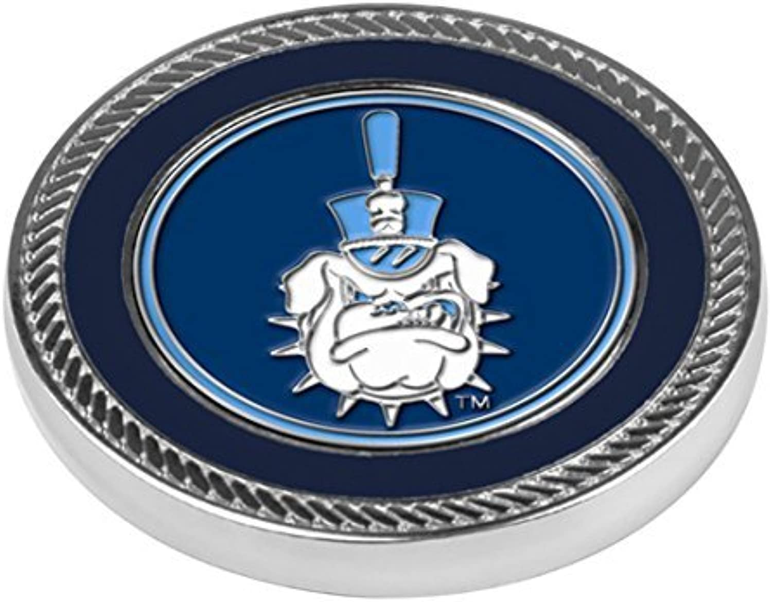 NCAA Citadel Bulldogs Challenge Coin 2 Ball Markers, One Size by LinksWalker