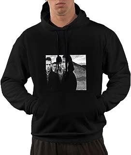 NA Men U2 - Joshua Tree Funny Black Hooded Sweatshirt