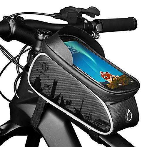 OhhGo - Borsa anteriore impermeabile per mountain bike, per bicicletta, con telaio anteriore