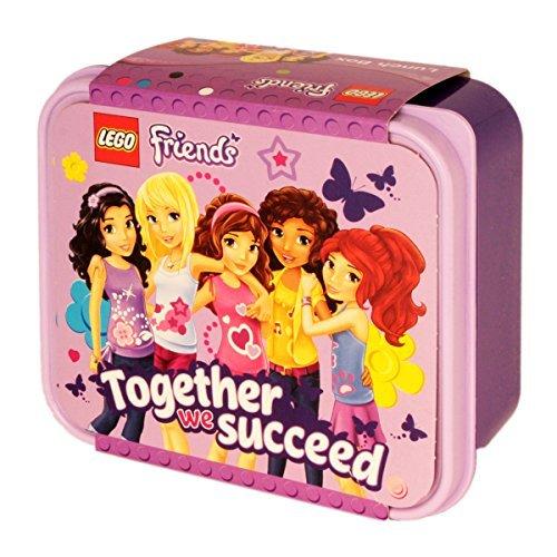 LEGO 4050 Portavivande Friends, Contenitore per Alimenti, Viola, Polipropilene, Lavanda, 45x35x25 cm