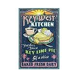 Key West, Florida – Key Lime Pie Vintage Schild 8