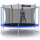 Kinetic Sports Gartentrampolin TPLH13 (Ø 400 cm, blau)