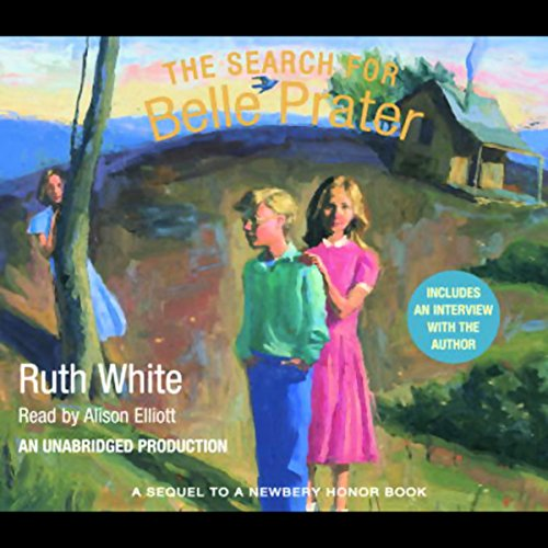 The Search for Belle Prater audiobook cover art