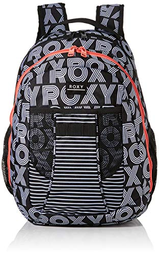 Roxy Womens JUST BE Happy Backpack, Anthracite Calif Dreams, Medium