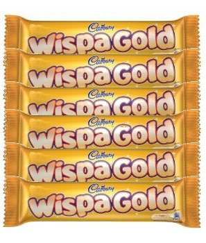 Cadbury Wispa Gold Bar - Pack of 6