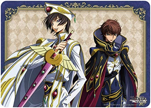 Shipping included Code Geass Lelouch Suzaku Card New products, world's highest quality popular! Game Character Playmat Rubber C