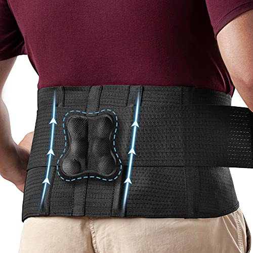 Omples Back Brace for Men and Women Lower Lumbar...