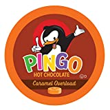 Pingo Hot Chocolate Pods for Keurig K-Cup Brewers, Caramel Overload 40 Count