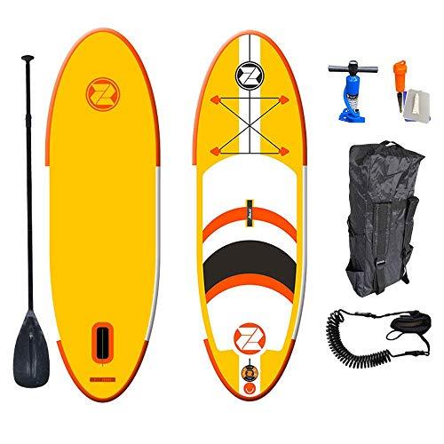 MXA Juego de Tabla de Paddle Sup Sup Up Inflable para niños con Pala, Bomba, Mochila y pie, Kit de Tabla de Surf Suave Ideal para Principiantes