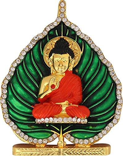 Artisans Orissa Buddha God Idol for Car Dashboard/Home/Office Item