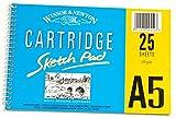 Winsor&Newton - Carta Cartridge Blocchi A Spirale A5 15,0 X 21,0 cm - 25 Fogli