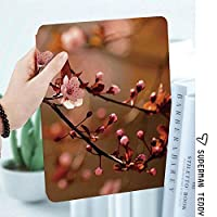 IPad 2 3 4ケース レザー 軽量 薄型 2つ折スタンド マグネット 磁気吸着 オートスリープ/ウェイク機能ケ 全面保護カバー アップルiPad 2/3/4 対応ipad3 ケース 桜桜の木の枝開花日本繁栄プリント装飾