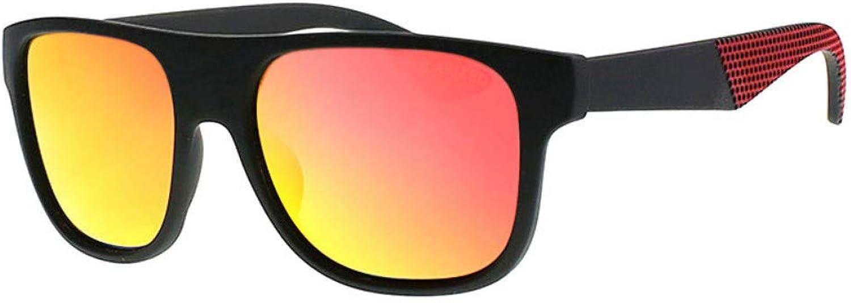 Sonnenbrille Marke Anti-Reflektierende Hip Hop Polarisierte Carter Sonnenbrille Mnner Mode Uv400 Brillen Frauen Sonnenbrille ReiseMnnlichen Rot