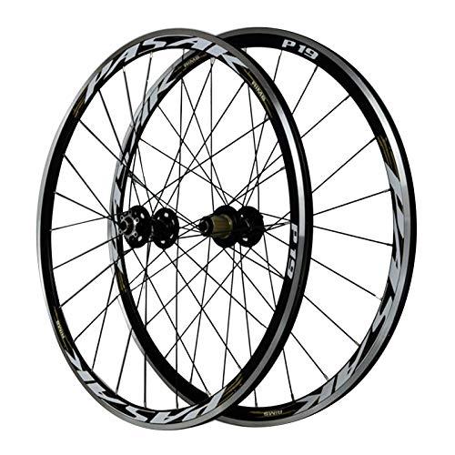SJLA 29 Zoll Vorderrad,Doppelwandig Aluminiumlegierung Scheiben/V-Bremse Mountainbike Fahrrad-Laufradsatz (Color :...