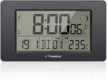 Amazon.fr : horloge murale digitale - Horloges stations météo ...