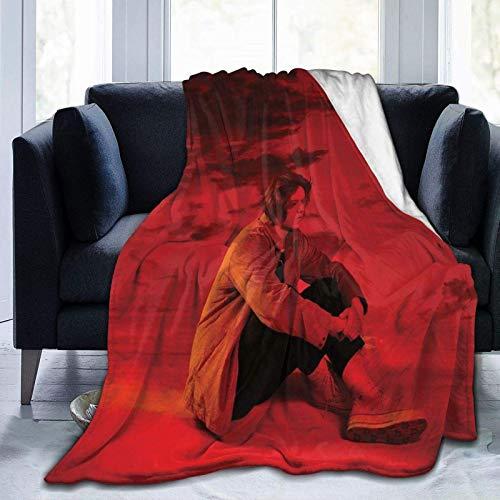 Jingliwang Lewis Capaldi - Manta de franela de forro polar para todas las estaciones