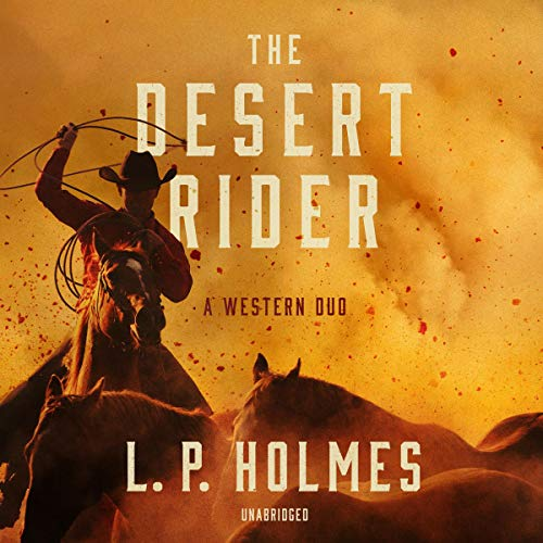 Couverture de The Desert Rider