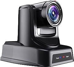 SMTAV NDI PTZ Camera,30x + 8X Zoom,Live Streaming Camera with HDMI,3G-SDI and IP Outputs,NDI HX 4.5,for Church,Conference,...