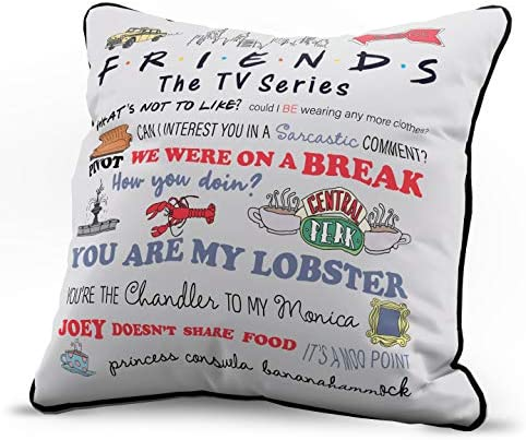 Official Dungeons /& Dragons Product Super Soft Bedding Dungeons /& Dragons Natural 20 Decorative Pillow Cover Throw Pillow Cover