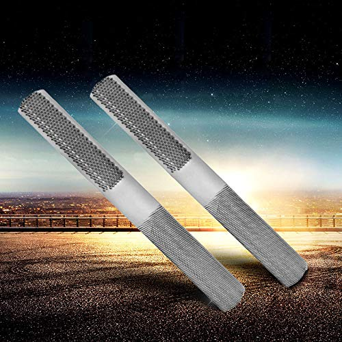 2 Pack Wood Rasp File, Hand File and Round Rasp, Half Round Flat Needle Files, Best Half Round File Wood File Set for Sharping Wood and Metal Tools