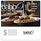 Babbo Italian Eatery Gift Cards - E-mail Delivery