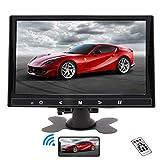 Monitor CCTV portatile da 9 pollici HDMI Piccolo monitor Full HD LCD Display Screen con ingresso VGA/AV Altoparlante incorporato per Raspberry Pi House Security Camera PC DVD DVR